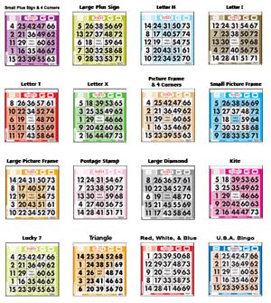 preprints pattern bingo paper