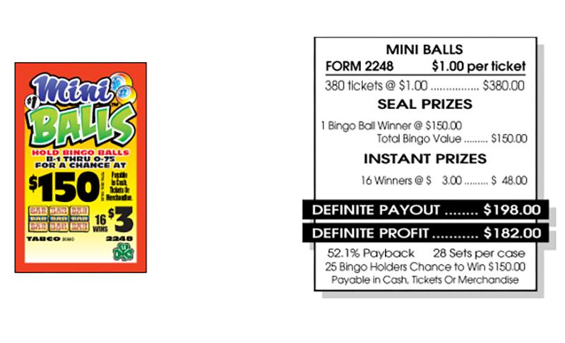 TAB 2248-MINI BALLS