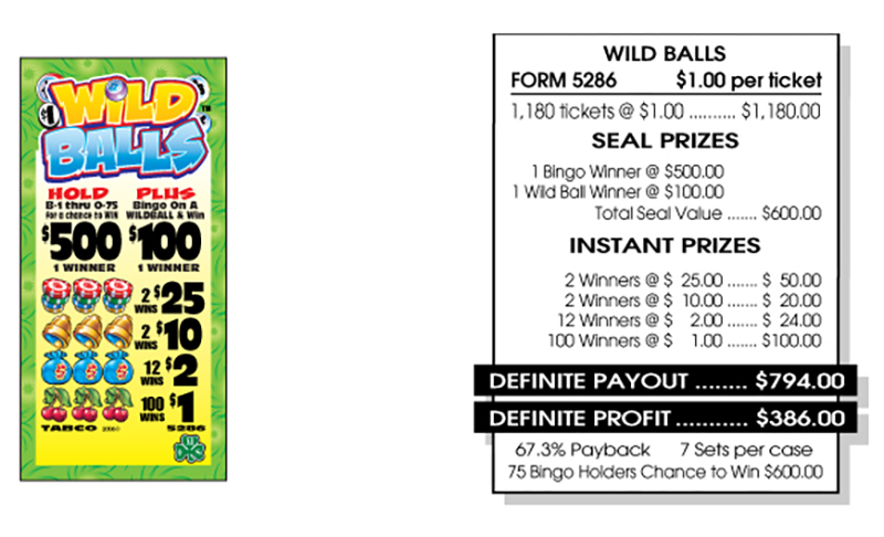 TAB 5286-WILD BALLS
