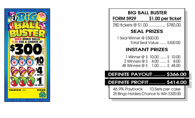 TAB 5929-BIG BALLS BUSTER