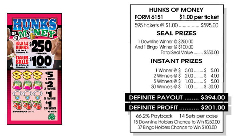 TAB 6151-HUNKS OF MONEY
