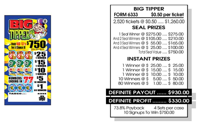 TAB 6333-BIG TIPPER
