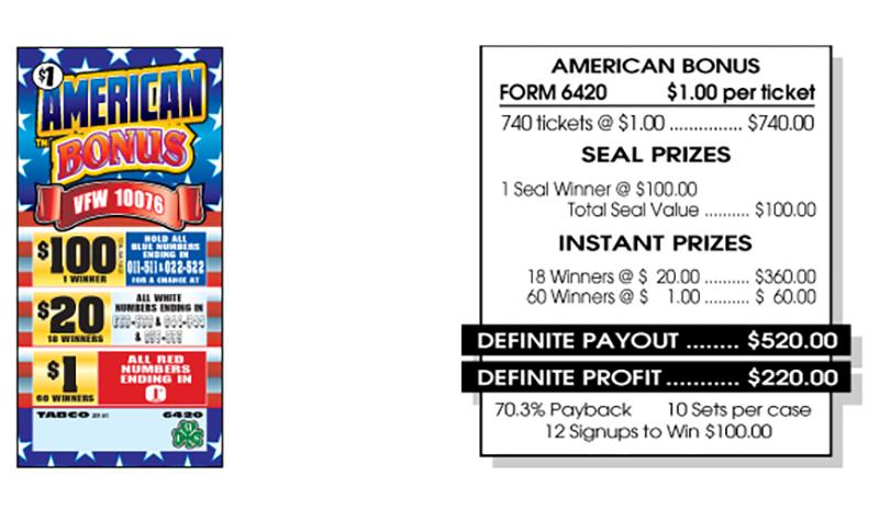 TAB 6420-AMERICAN BONUS
